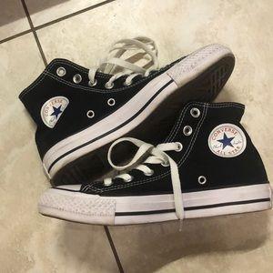 Converse all star high top black